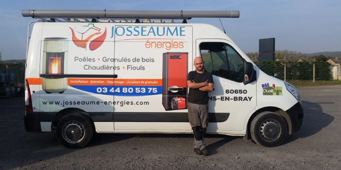 Philippe, technicien-chauffagiste, Josseaume Énergies
