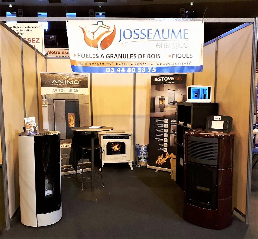 Notre stand de la foire expo 2017 josseaume energies for Amenagement stand foire exposition