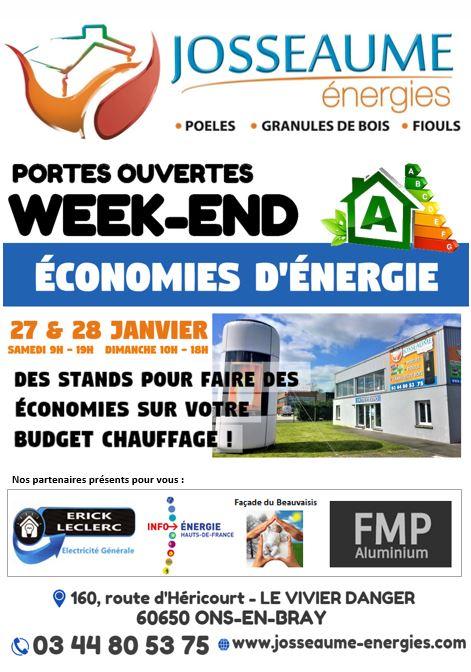 WEEK-END ÉCONOMIES D'ÉNERGIE !