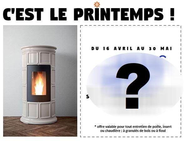 C'EST L'HEURE DES PROMOTIONS DE PRINTEMPS !