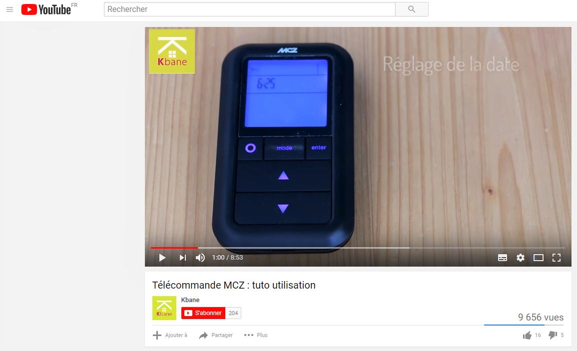 VIDEOS MCZ
