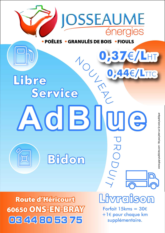 Nouveau produit : AdBlue