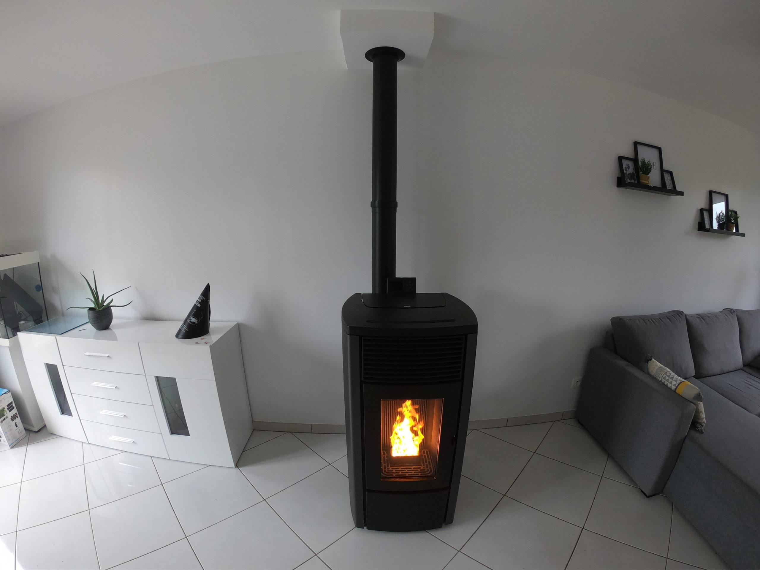 Poêle à granulés MCZ Égo - Gournay-en-Bray (76)
