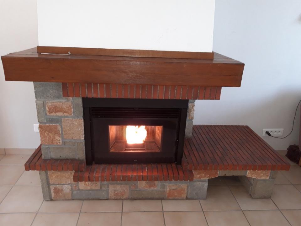Installation d'un insert à granulés de bois - Goincourt (60)